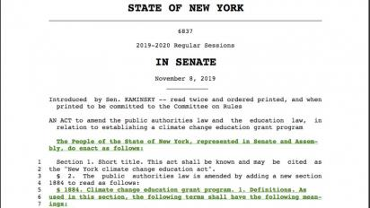 New York Senate bill text
