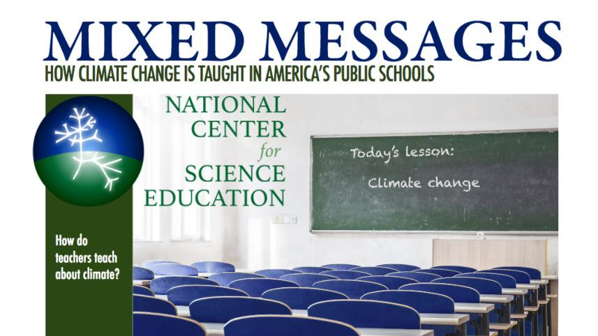 NCSE's Mixed Messages white paper