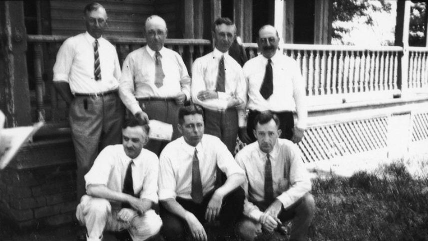 Defense witnesses for the 1925 Scopes trial.
