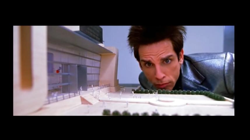 A screenshot from the movie Zoolander